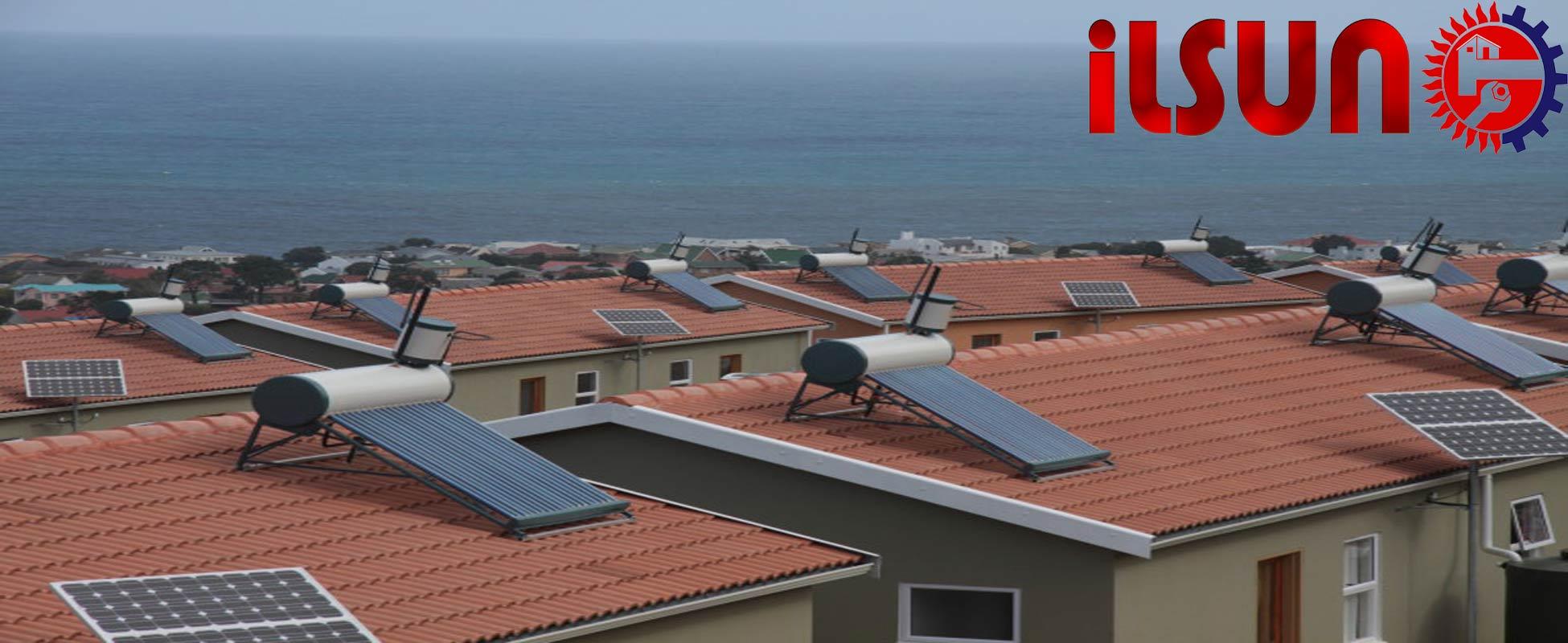 آبگرمکن خورشیدی کم فشار