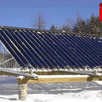 آیا از آبگرمکن خورشیدی در زمستان هم می شود استفاده کرد؟