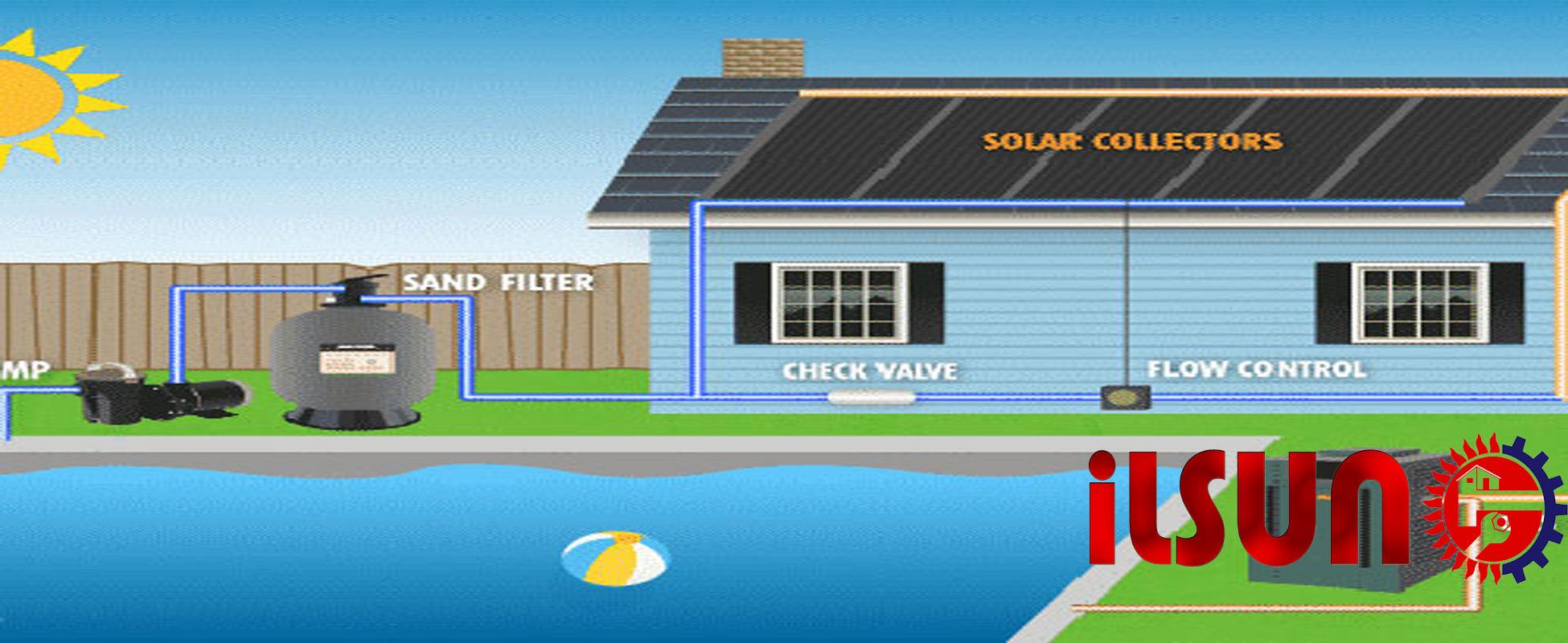 آیا آبگرمکن خورشیدی برای استخر کاربرد دارد؟