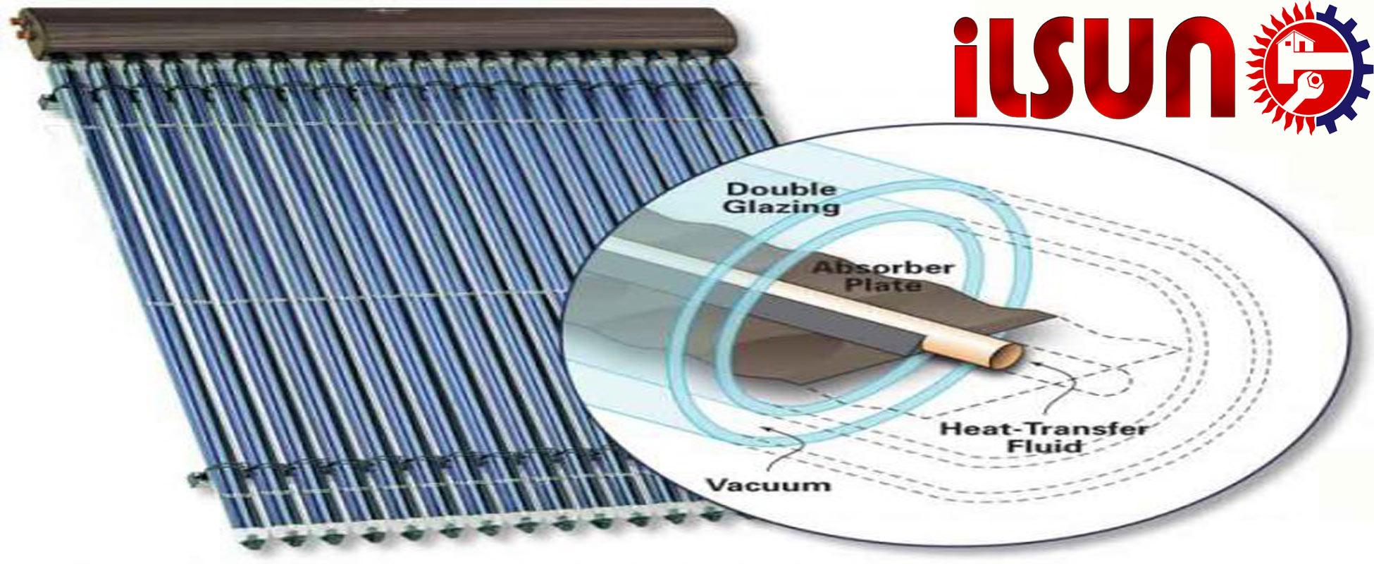 انواع کلکتور آبگرمکن خورشیدی . خرید آبگرمکن خورشیدی