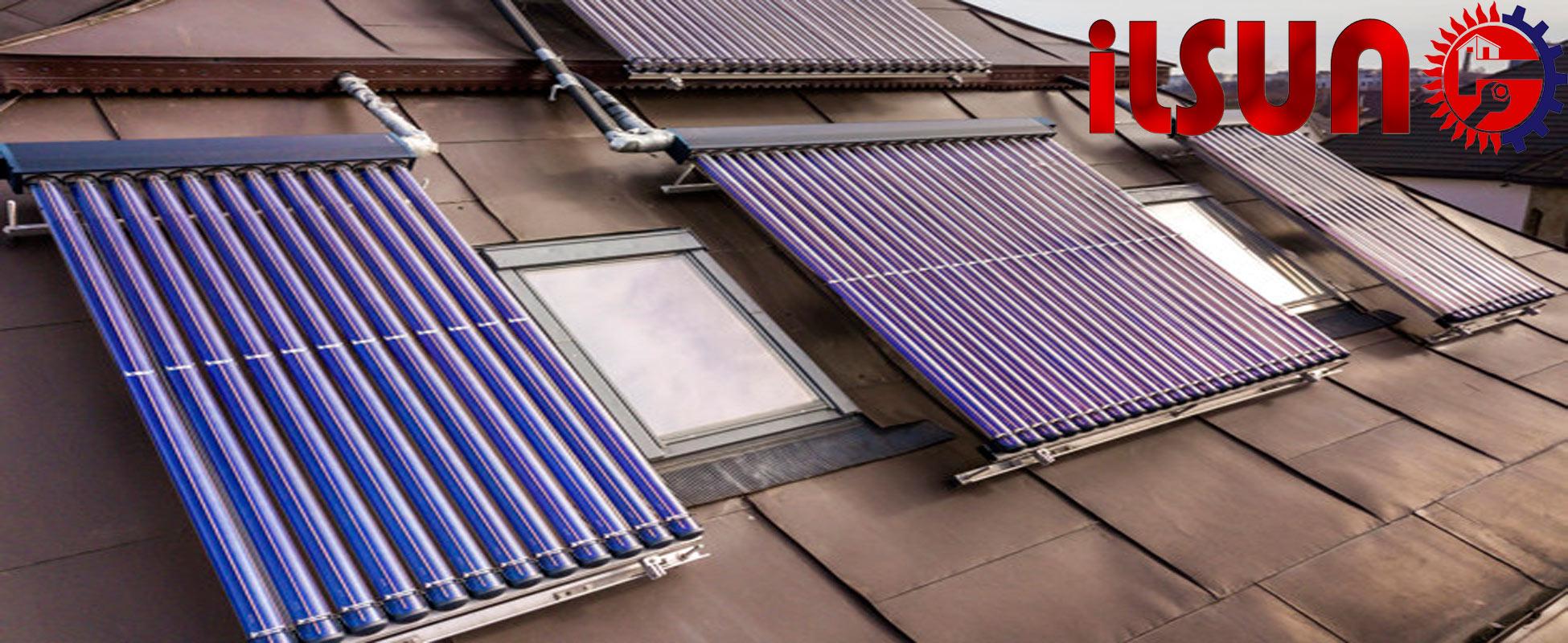 آبگرمکن خورشیدی در شمال . آبگرمکن خورشیدی