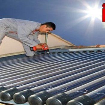 خرید آبگرمکن خورشیدی . قسمت های اصلی یک آبگرمکن خورشیدی
