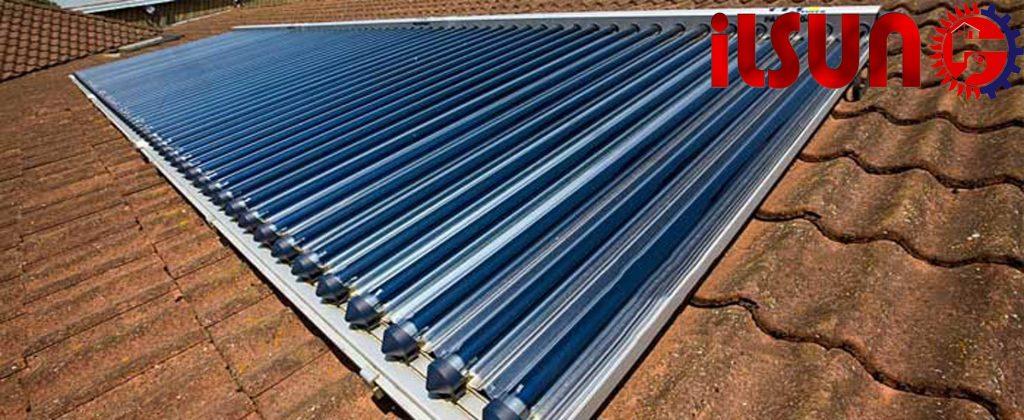 بهترین زاویه برای نصب آبگرمکن خورشیدی . خرید آبگرمکن خورشیدی
