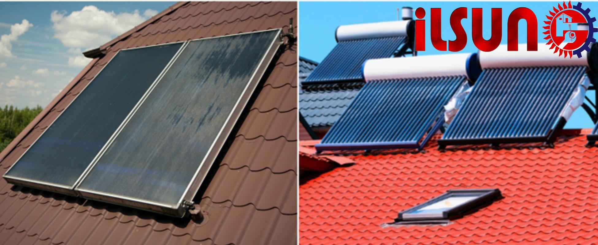 خرید آبگرمکن خورشیدی . چیزهایی که یک نصاب آبگرمکن خورشیدی باید بداند؟