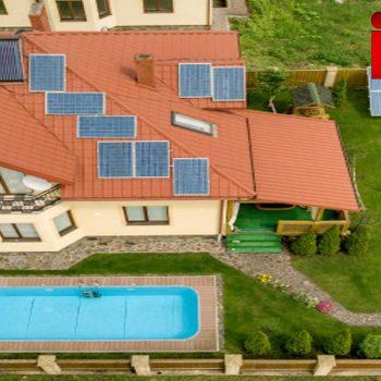نصب آبگرمکن خورشیدی بر روی پشت بام . خرید آبگرمکن خورشیدی